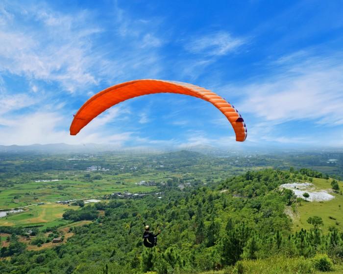 湖南长沙 · 黑麋峰滑翔伞基地